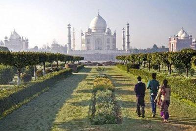 Mehtab Bagh Gardens Agra