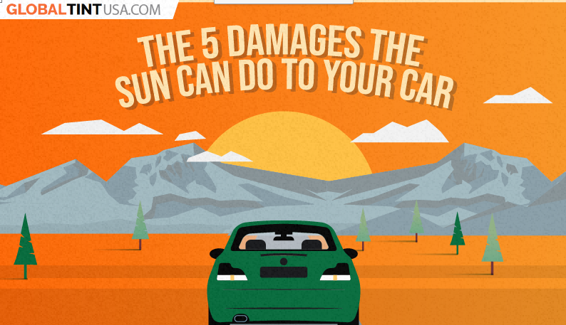 The 5 Damages the Sun Can Do to Your Car