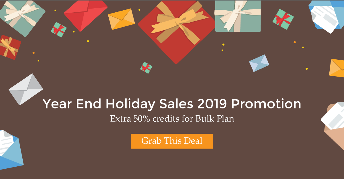 Year End Holiday Sales 2019 Promotion