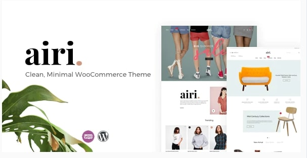 Airi – Clean, Minimal WooCommerce Theme
