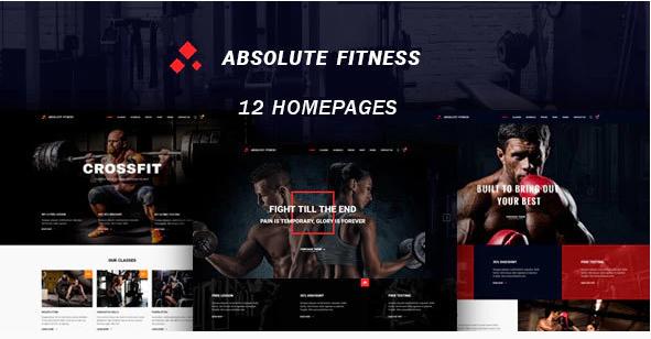 Absolute Fitness – Fitness Multipurpose WordPress Theme