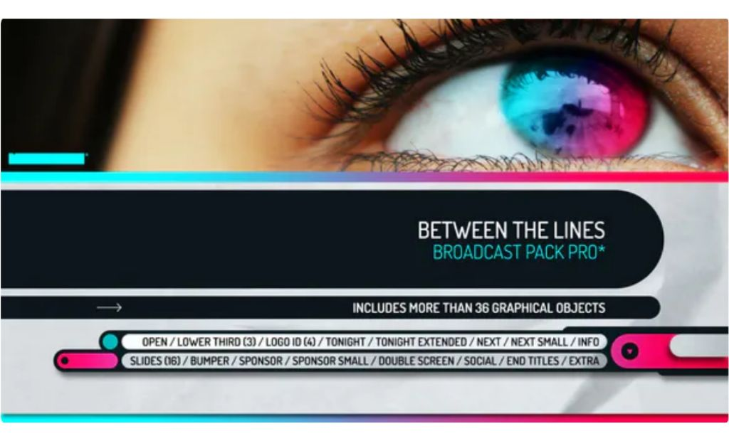 Between the Lines – Broadcast Pack Pro