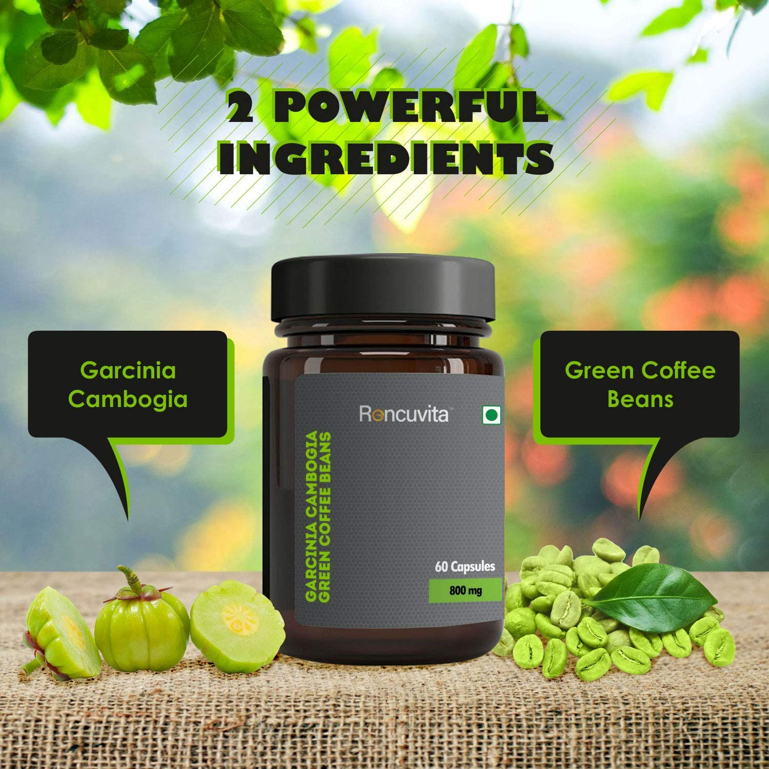 Green Coffee Beans Extract Weight Loss Capsules