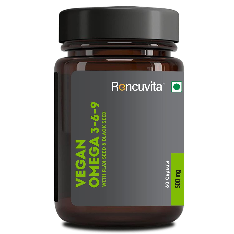RONCUVITA Omega 3 6 9 Essential Fatty Acids Capsules